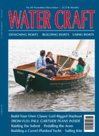 'Kite' has appeared in Water Craft magazine. Image is courtesy Water Craft see www.watercraft-magazine.com