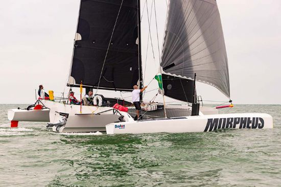 Dave Hawkins Pushes his Boundaries to Compete in Rolex Fastnet Race