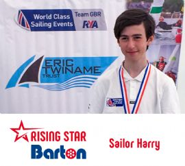 In Conversation with Sailor Harry - Barton Rising Star
