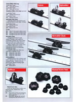 Barton Marine - Shroud cleats and sliding cleats introduced - 1992