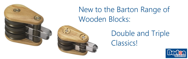 New to the Barton range of Wooden blocks - Double and Triple classics