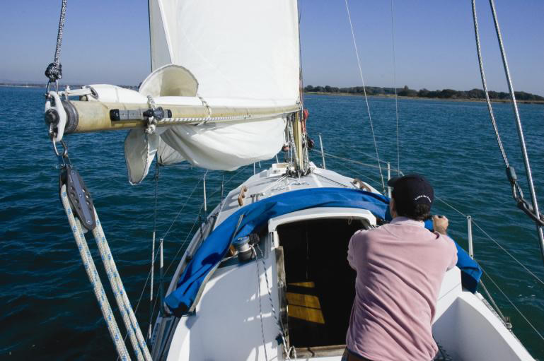Fitting Instructions for Single Line Mainsail Reefing System