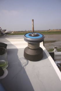 Fitting the Barton Wincher - Step 4: Fitted - Installed wincher