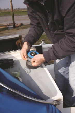 Fitting the Barton Wincher - Step 3: Fitting Wincher lip to drum top lip