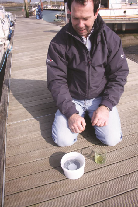 Fitting the Barton Wincher - Step 1: Immersion